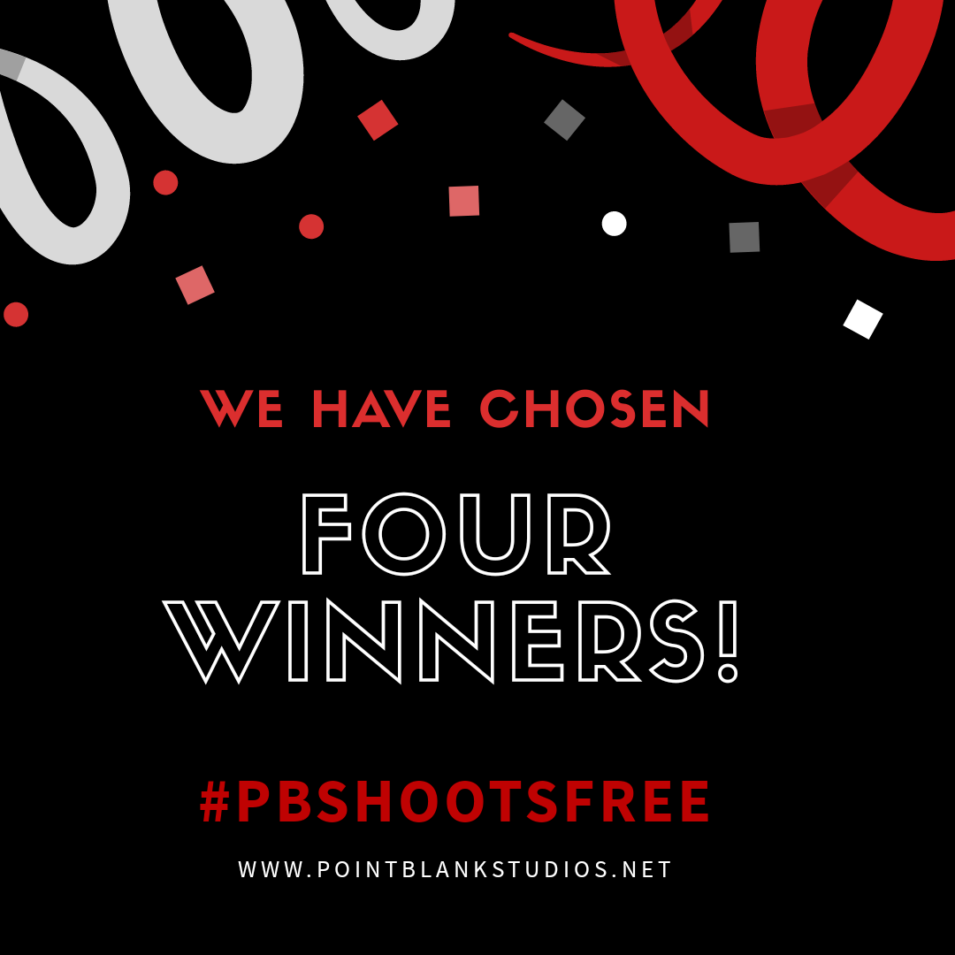 #PBShootsFree Winners!!!