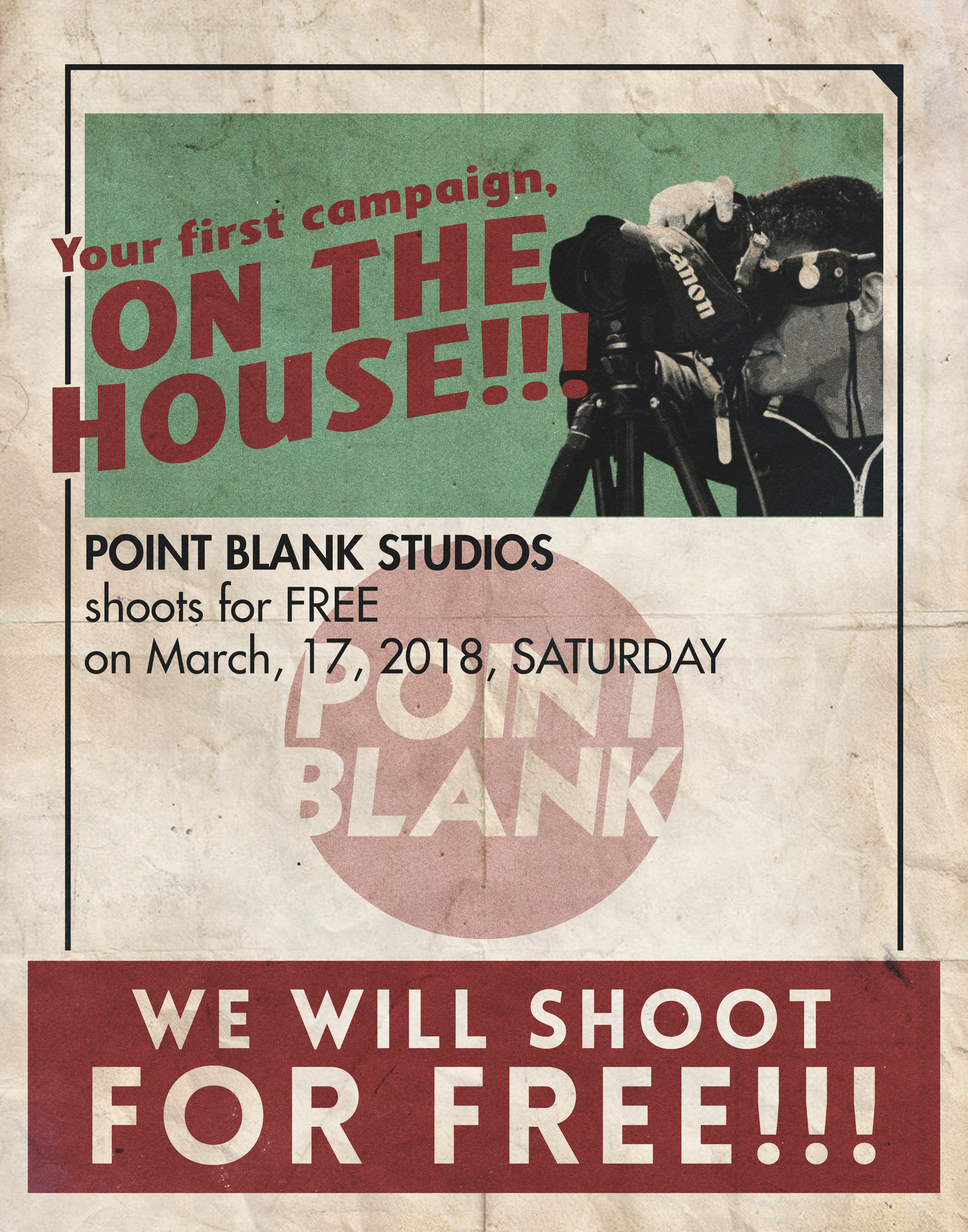 We Shoot for Free!